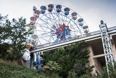 Duży koło przy Tibidabo Obrazy Stock