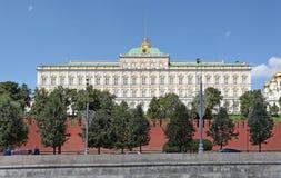 Duży Kremlowski pałac moscow Obrazy Stock