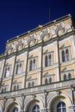 Duży Kremlowski pałac w Moskwa Unesco Światowego Dziedzictwa Miejsce Obrazy Stock