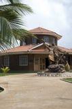 duży kukurydzana kultury domu wyspa Nicaragua Obrazy Royalty Free
