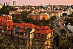 Duży miasta życie Fotografia Stock