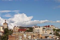 Duży miasta życie Obrazy Royalty Free