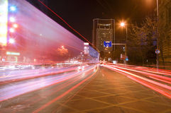 duży miasta ruch drogowy Zdjęcia Royalty Free