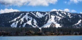 Duży niedźwiadkowy jezioro Zdjęcie Stock