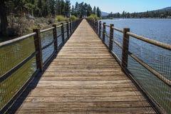 Duży Niedźwiadkowy jezioro Obraz Royalty Free
