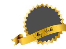 duży odznaki sprzedaż Fotografia Stock