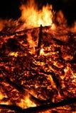 duży ogień Zdjęcie Stock
