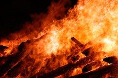 duży ogień Zdjęcia Royalty Free