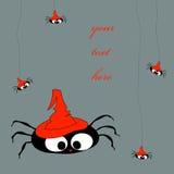 Duży pająk Ilustracja Wektor
