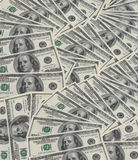 duży pieniądze fotografia stock