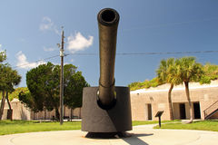 Duży pistolet zdjęcie stock