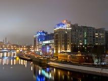 duży podkreślający domowy Moscow Fotografia Stock