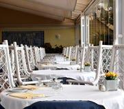 duży restauracja zgłasza okno zdjęcia royalty free