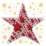 duży robić małe gwiazdowe gwiazdy Fotografia Royalty Free