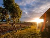 Duży Rzeczny rancho w Kalbarri obrazy royalty free