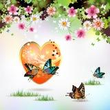 duży serce royalty ilustracja