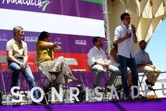Duży spotykający ogólnie kampanię wyborczą 91 Fotografia Stock