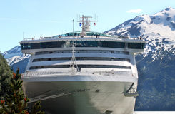 duży statek wycieczkowy Zdjęcie Royalty Free