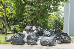 Duży stos śmieci i talia Obraz Stock