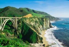 Duży Sura, Kalifornia fotografia royalty free