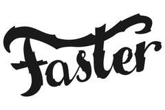 Duży, Szybki, Silny Inspiracyjny sporta mówić Motywacyjna wycena Zdjęcie Stock