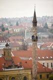 Turecki minaret w Węgry Zdjęcie Royalty Free