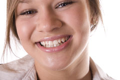 duży uśmiech Zdjęcie Stock