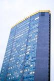 Duży wysoki biznesowy budynek w centrum Mediolan, Włochy Obraz Stock