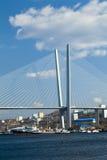 Duży zawieszenie most zdjęcia stock