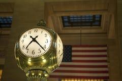 duży zegar Zdjęcie Stock