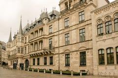 du卢森堡ville 免版税库存图片