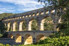 du法国gard pont 免版税库存照片