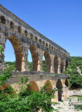 du法国gard pont 免版税库存图片