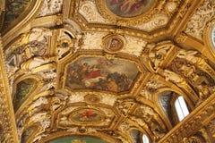 du法国le卢森堡palais巴黎senat 免版税库存照片