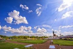 Duża Buddha statua przy phutthamonthon, Nakhon Pathom, Tajlandia Zdjęcia Royalty Free