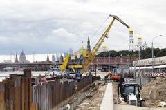 Duża budowa, infrastruktury miejsce Obraz Stock