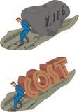 Du coût de la vie illustration de vecteur