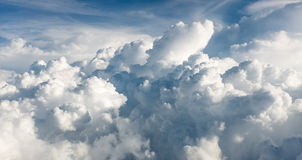 Duża cumulus chmura Fotografia Stock