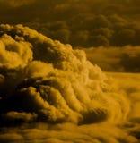 Duża czerwieni chmura od nieba Zdjęcia Royalty Free