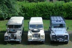 ` du ` 110 du ` 109 de Land Rover 107 Images stock