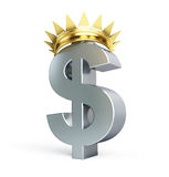 Or du dollar développé Images libres de droits