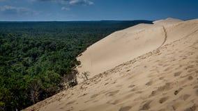 du dune pyla 库存图片