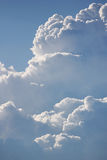 duże chmury Obrazy Stock