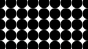Du?e czarne polek kropki - prosty retro wz?r dla kreatywnie, 3d odp?aca si?, czarna polki kropka na bia?ym tle royalty ilustracja
