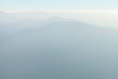 duże krajobrazowe halne góry Obraz Royalty Free