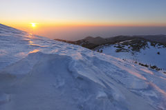 duże krajobrazowe halne góry Obrazy Stock