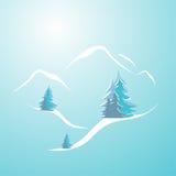 duże krajobrazowe halne góry Zdjęcie Royalty Free