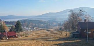 duże krajobrazowe halne góry Zdjęcia Stock