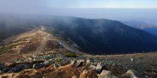 duże krajobrazowe halne góry Zdjęcia Royalty Free