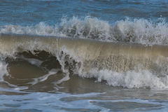 Duża fala w Adriatic morzu Obrazy Royalty Free